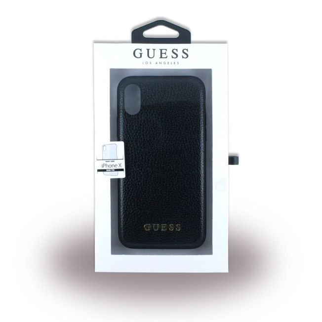 Iphone X - Guess Cover black