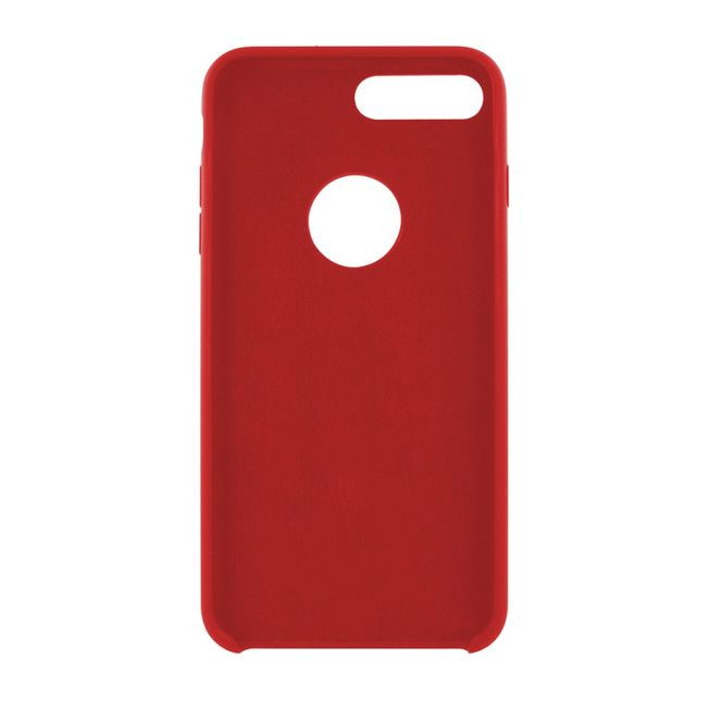 Iphone 7+/ 8+ Silikon Cover - rot