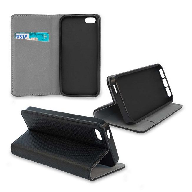 Iphone 7+/ 8+ Smart Magnet Wallet black
