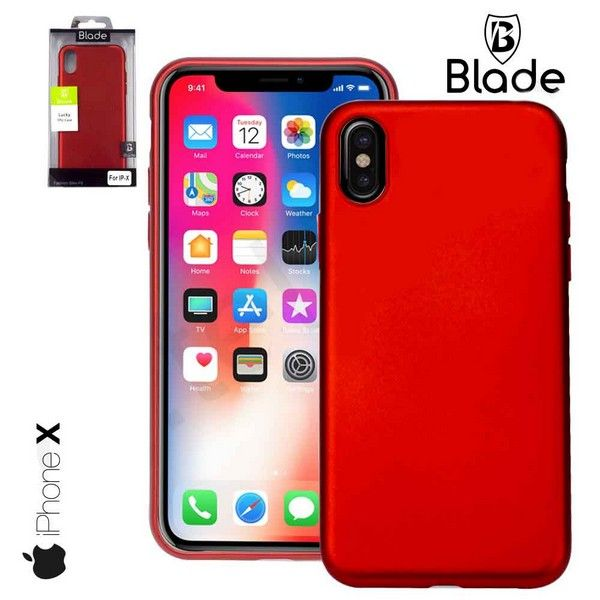 iPhone X Cover rot