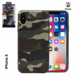 iPhone X Cover camouflage