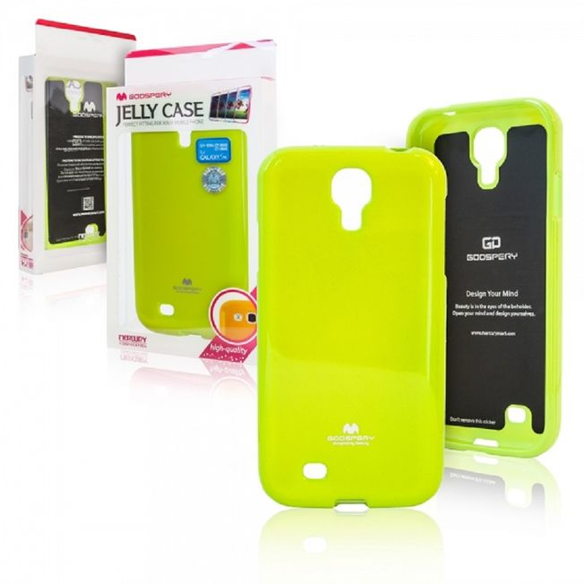 Iphone 7/8 Cover - JellyCase gelb/lime green