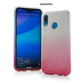 Samsung S9 - TPU Cover pink/ silber