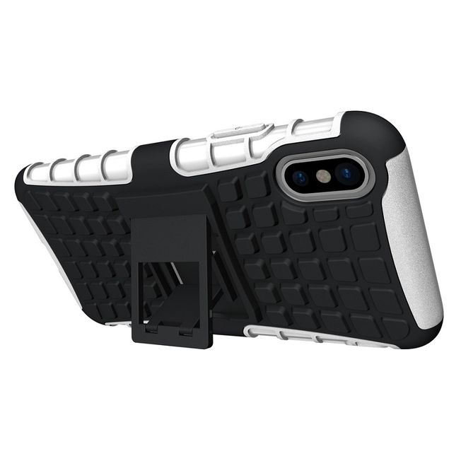 Iphone X TPU Cover Shockproof weiß