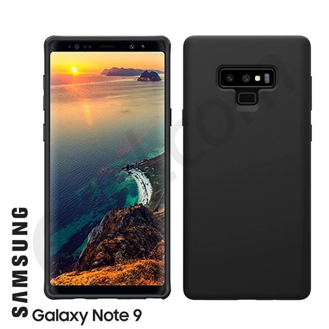 Samsung Note 9 - TPU Case black