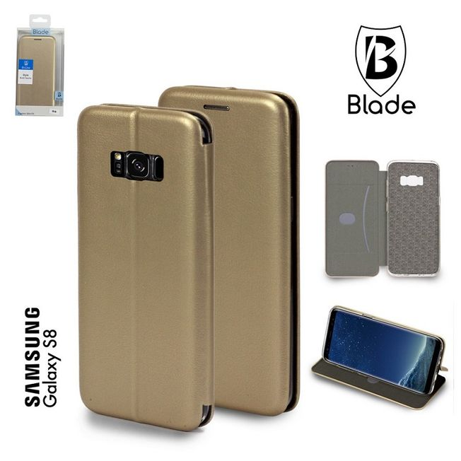 Iphone 7/8 Blade Wallet gold