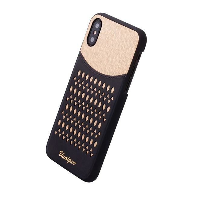 Iphone X - Uunique - Hardcase gold