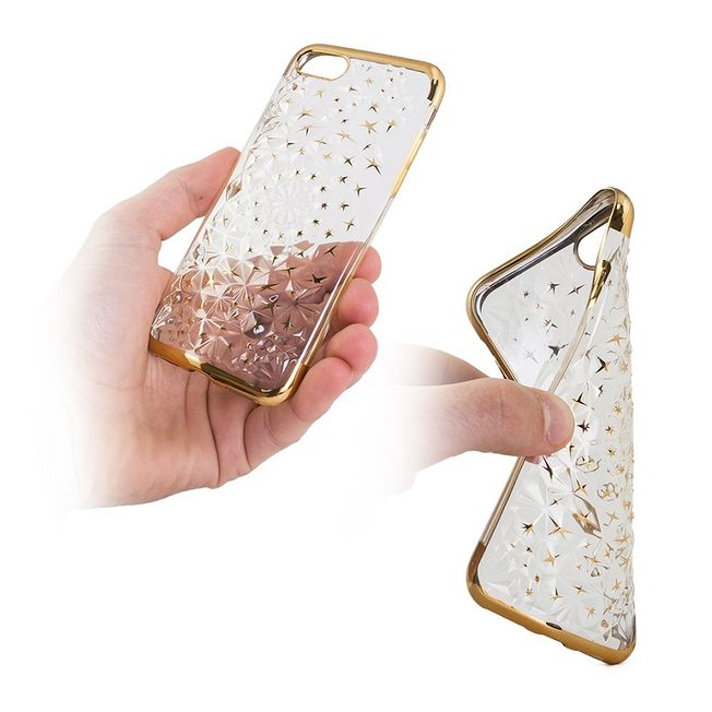 Samsung S8 - TPU Cover - 3D Star