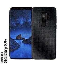 Samsung S9+ - TPU Cover Carbonlook black