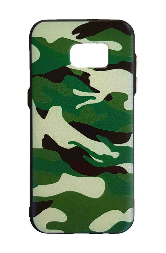 Samsung S7edge - Army Cover - grün