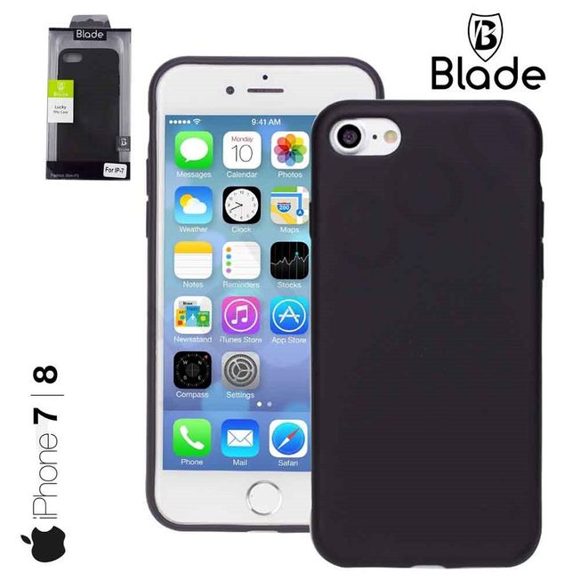 Iphone 7/8 - TPU Cover black