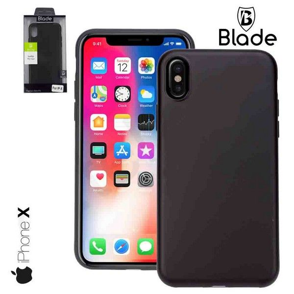 iPhone X Cover black