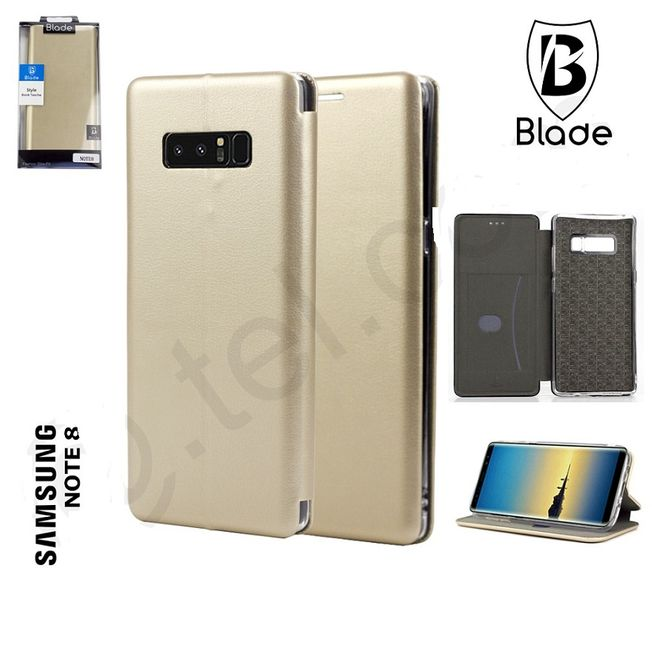 Samsung Note 8 - Blade Wallet gold