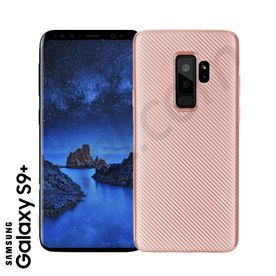 Samsung S9+ - TPU Cover Carbonlook rosegold