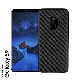 Samsung S9 - TPU Cover black Carbon